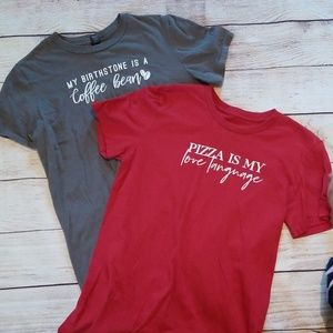 Two inspiration fit tees